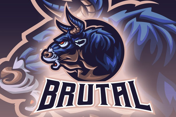 Cover Image For Bull Head Esport Logo