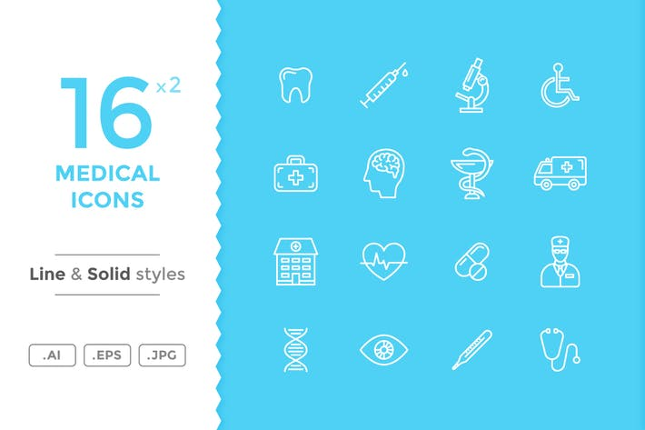 Thumbnail for Medical Icons