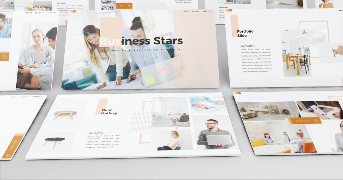 Download BUSINESS STARS - Powerpoint V503 by Shafura