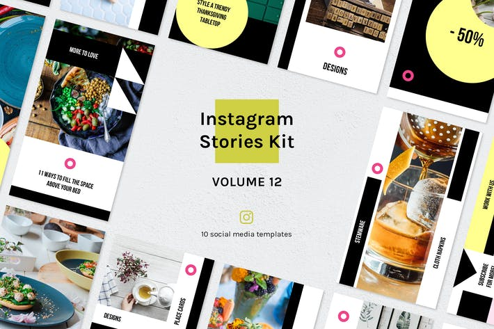 Thumbnail for Instagram Stories Kit (Vol.12)