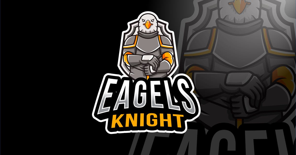 Download Eagles Knight Esport Logo Template by IanMikraz