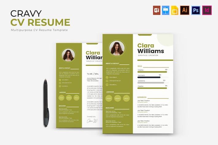 Thumbnail for Cravy | CV & Resume
