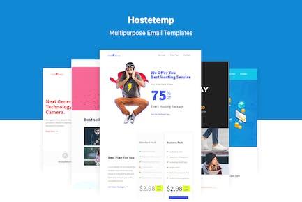 Hostetemp - Multipurpose Email Templates & Builder