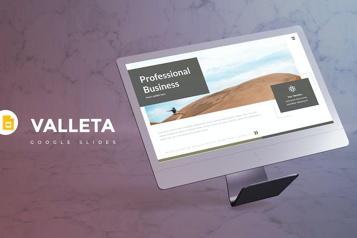 Thumbnail for Valleta - Google Slide Template
