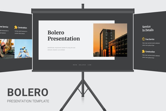 Thumbnail for Болеро - Бизнес-профиль Google Слайды