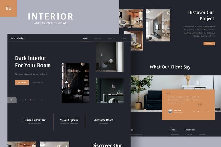 Thumbnail for Interior Landing Page v.M09