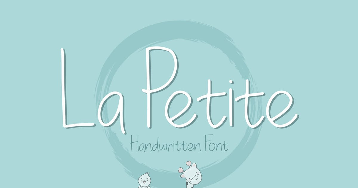 Download La Petite Handwritten Font by peterdraw