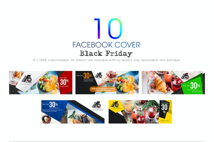 Thumbnail for 10 Facebook Cover-Black Friday