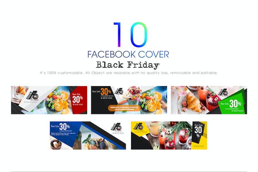 10 Facebook Cover-Black Friday