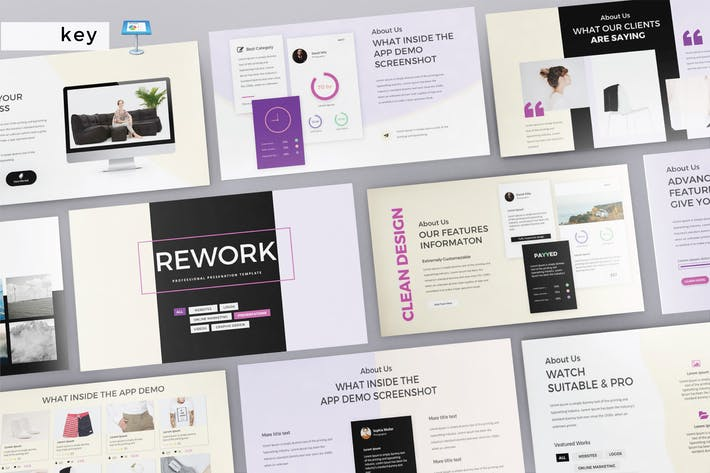 Thumbnail for REWORK - Multipurpose Keynote V212
