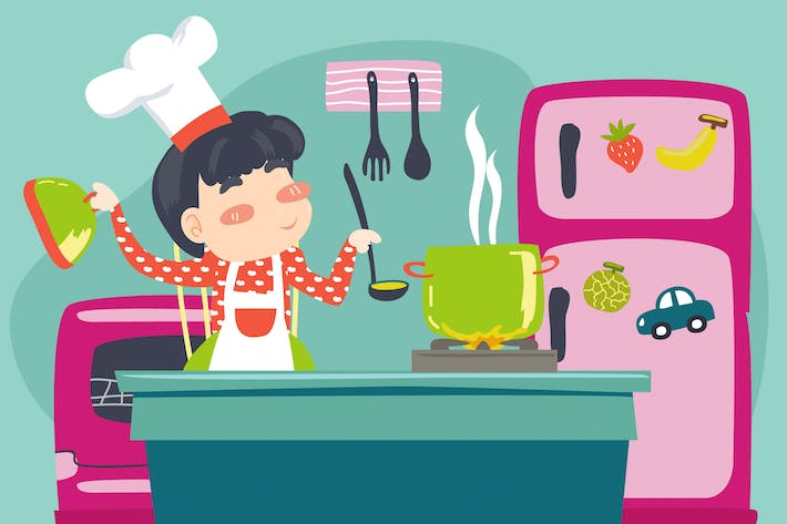 Thumbnail for Cooking Time Illustration