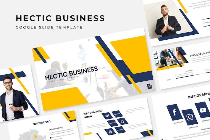 Thumbnail for Hectic Business - Plantilla de diapositivas de Google