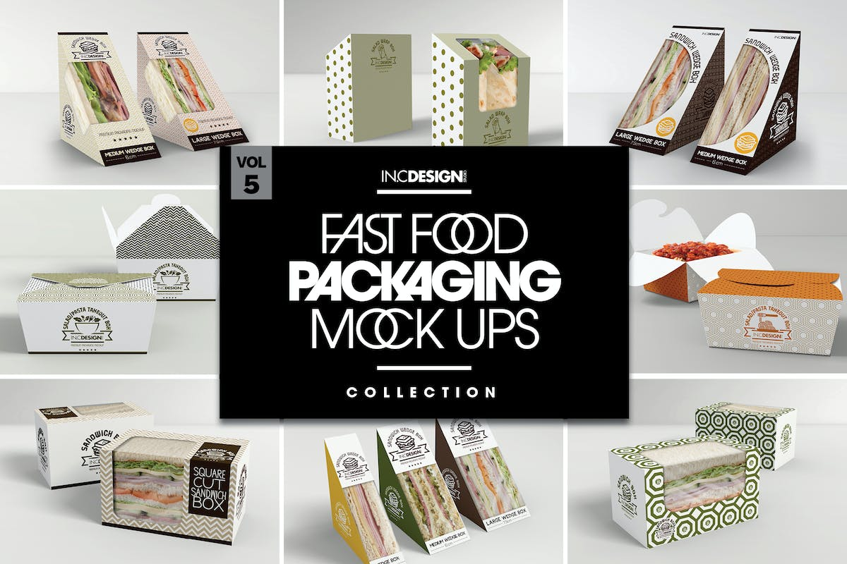 paper food tray template.html