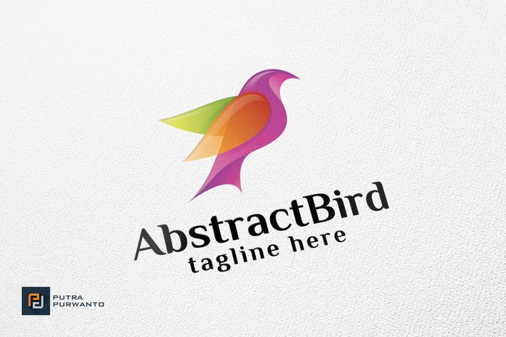 Thumbnail for Abstract Bird - Logo Template