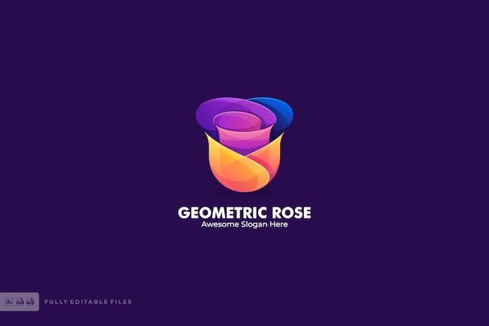 Thumbnail for Geometric Rose Color Logo Template