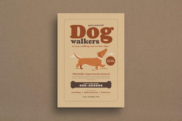 Thumbnail for Dog Walker Event Flyer