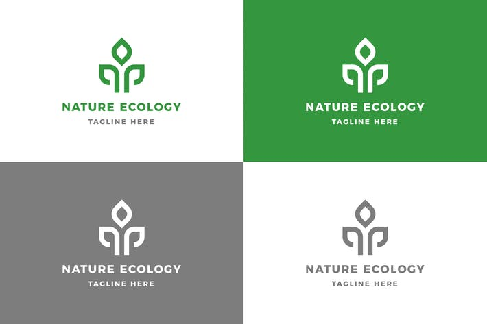 Thumbnail for Nature Ecology - Logo Template