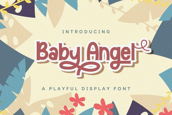Baby Angel - Fuente de visualización lúdica