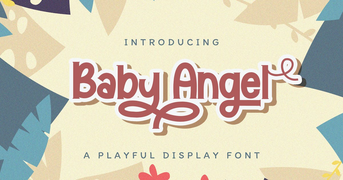 Download Baby Angel - Playful Display Font by StringLabs