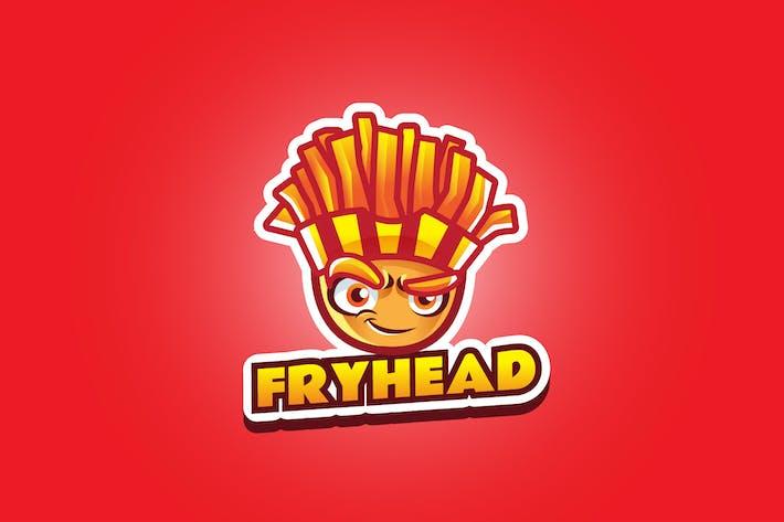 Thumbnail for fry head - Mascot Logo
