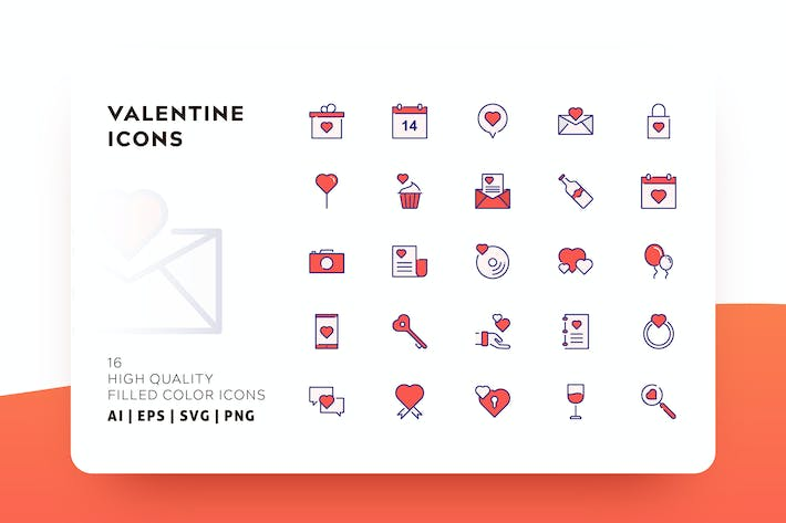 Thumbnail for VALENTINE FILLED COLOR