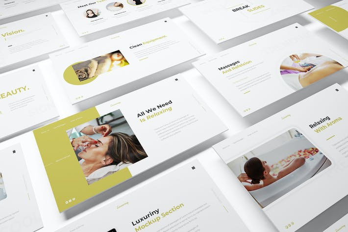 Thumbnail for Luxuriny Powerpoint Template