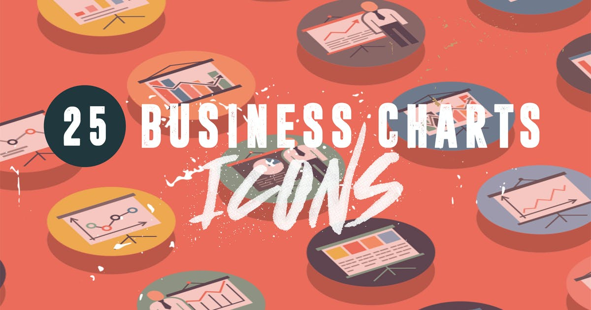 Download 25 Business Charts Icons by thedighital