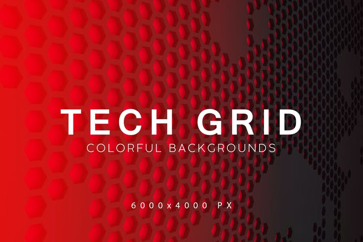 Thumbnail for Tech Grid Backgrounds