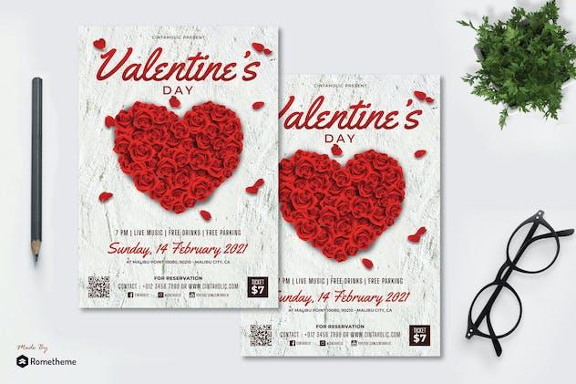 Valentine vol.01 - Flyer RB