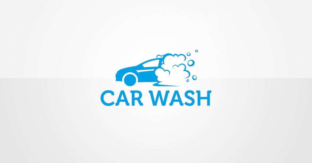 Download Car Wash Logo Template by floringheorghe