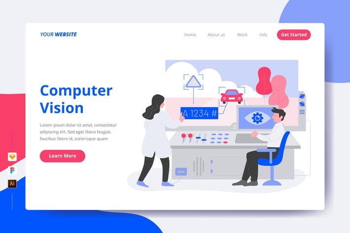 Computer Vision - Landing Page