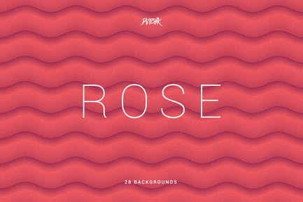 Rose | Soft Abstract Wavy Backgrounds
