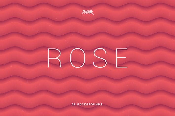Thumbnail for Rose | Soft Abstract Wavy Backgrounds