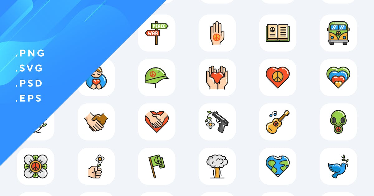 Download 50 Pacifism Icons by Guapoo