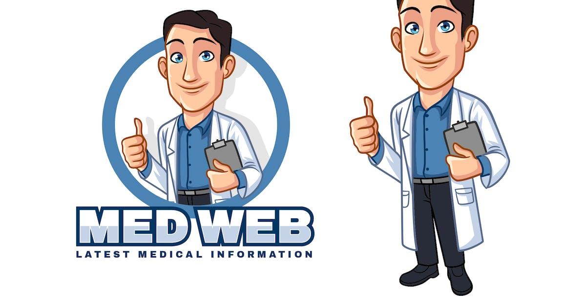 Download Cartoon Doctor - Medical Mascot Logo by Suhandi