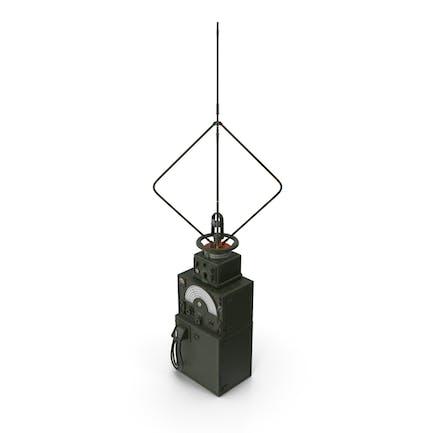 Военная антенна для поиска направления с усилителем