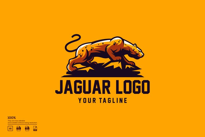 Thumbnail for Jaguar Logo Design
