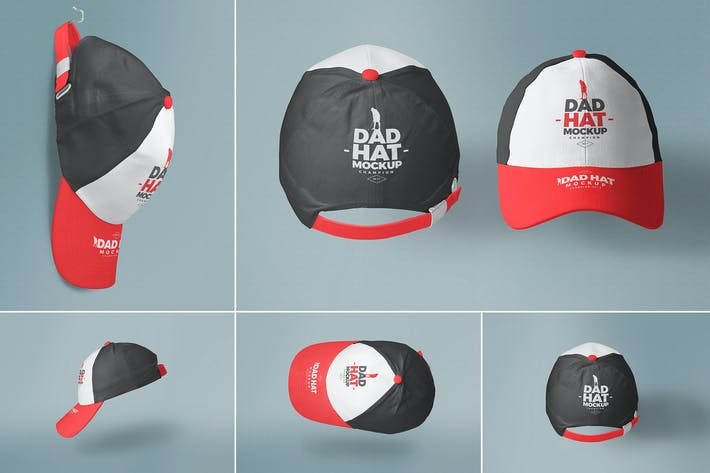 Thumbnail for Baseball Cap Mockups