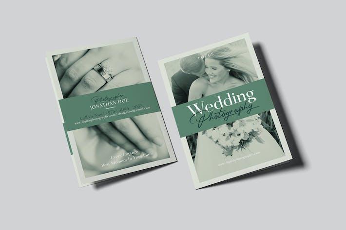 Thumbnail for Wedding Photography Bifold Brochure