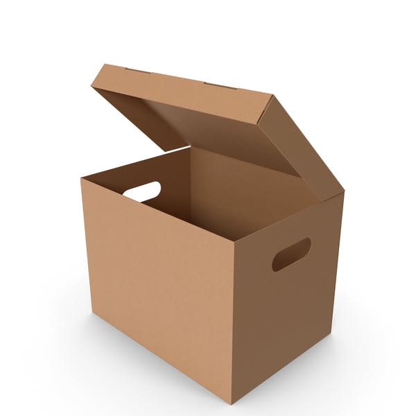 Thumbnail for Картонная коробка Большая Открытая