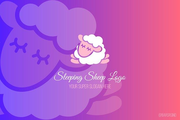 Thumbnail for Sleeping Sheep Logotype