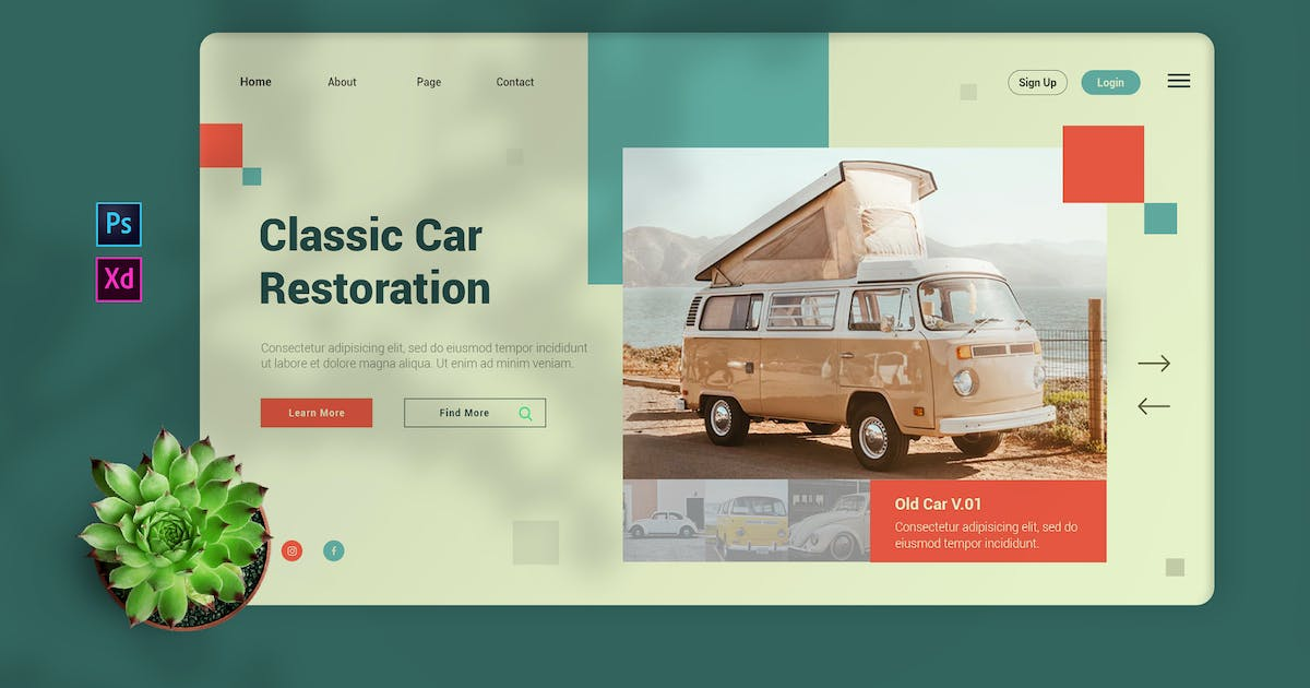 Download Fixingcars - Landing Page by Streakside