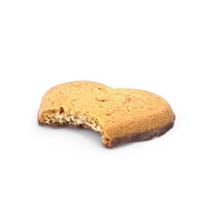 Heart Shaped Cookie Bitten