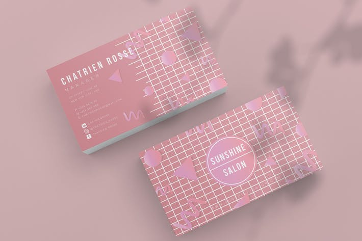 Cover Image For Sun Shine Business Card