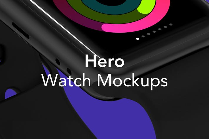 Thumbnail for HERO Watch Mockups