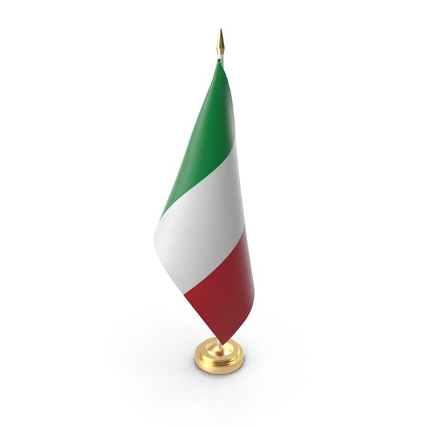 Table Flag Italy