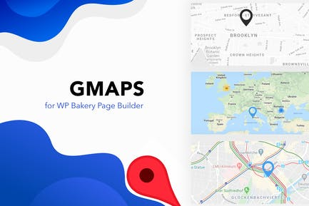 GMAPS for WPBakery Page Builder (Visual Composer)