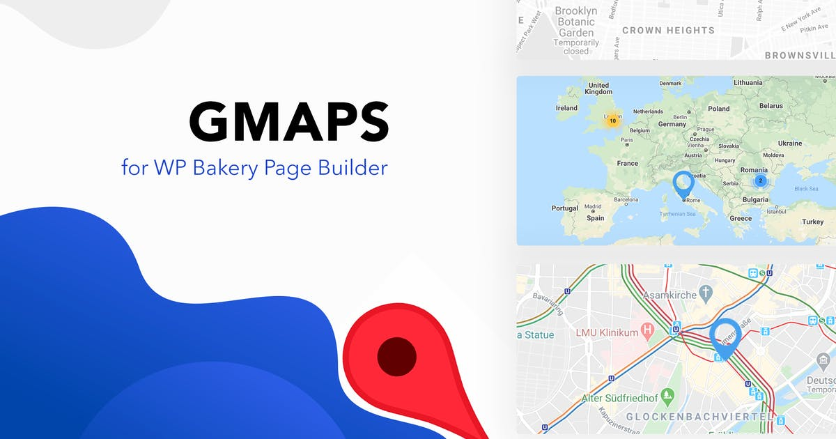 Download GMAPS for WPBakery Page Builder (Visual Composer) by WWPixels