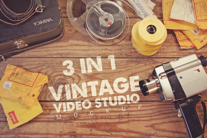 Thumbnail for Vintage Video Studio 3 in 1