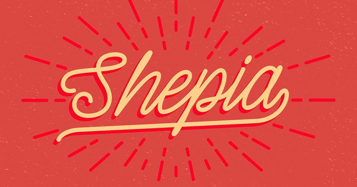 Shepia Script by Seniors_Studio